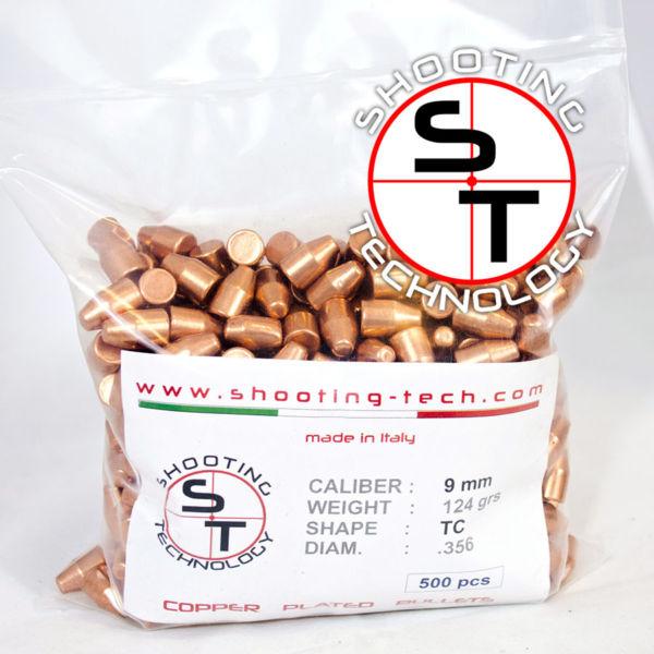 Copper Balls 9 mm TC 124 grains