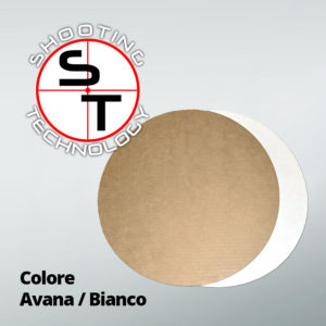 Rounded Target - Cardboard Plate