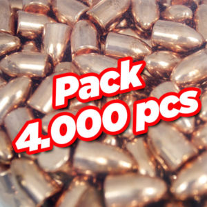 Diamond copper plate bullet 4000 pcs