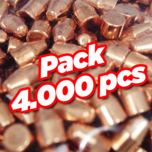 Diamond copper plate bullet TC 4000 pcs