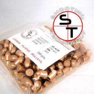 Copper Balls 45 RN 230 grains