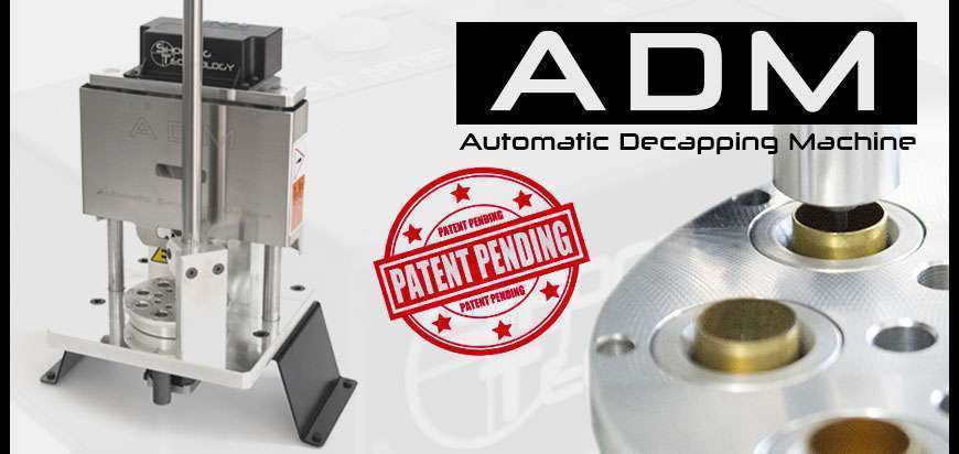 ADM Automatic decapping machine made in Italy ammunition reloading