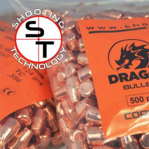 Dragon Copper Plate Bullet 9 mm caliber TC
