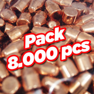 Diamond copper plate bullet TC 8000 pcs
