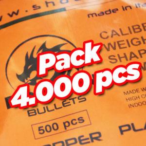 Dragon 4000 pcs pack
