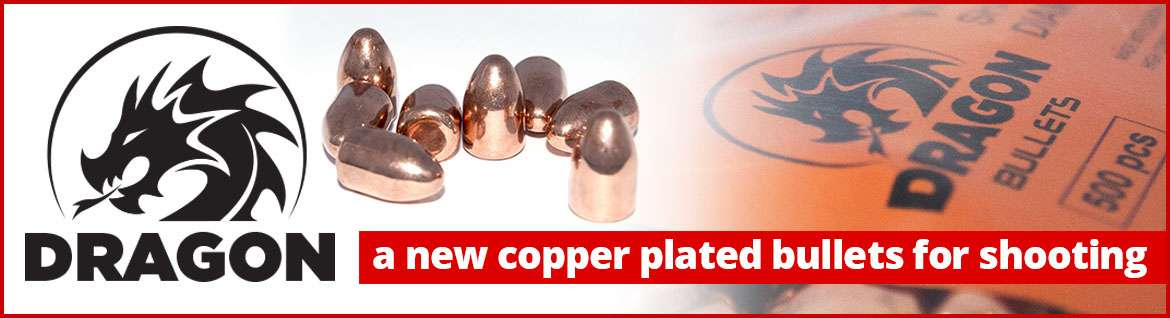 Dragon Bullets new high performances copper plated bullet