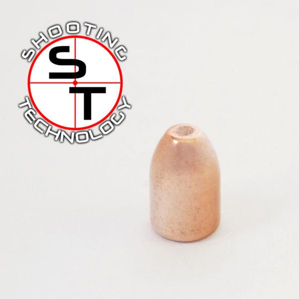 Bullet Flat point Hollow Base 124 grs