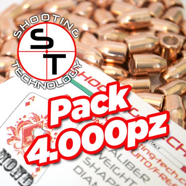 Diamond bullet Flat point Hollow Base 124 4000 pack