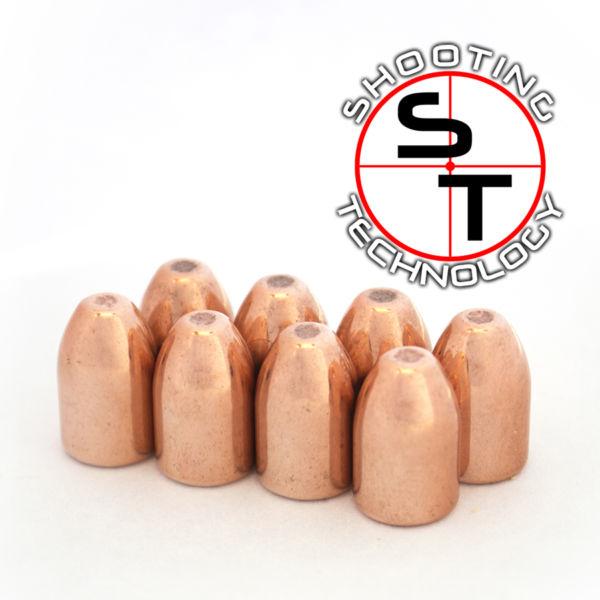 Diamond bullet Flat point Hollow Base 124 grains