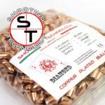 Diamond bullet Flat point Hollow Base 124 grani