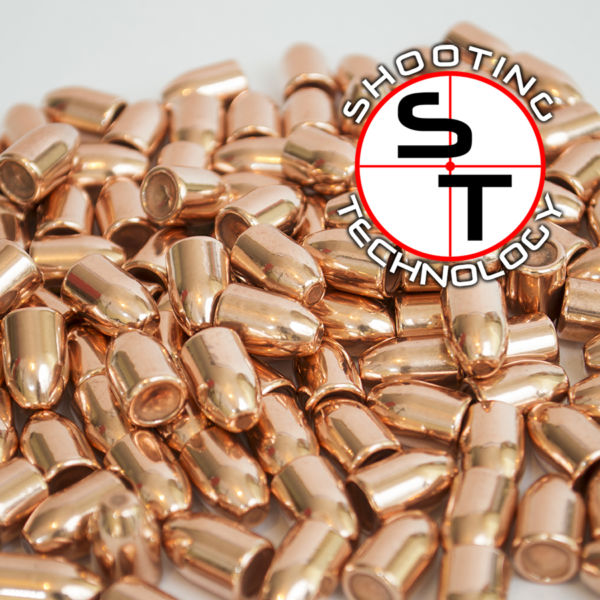 Diamond bullet Flat point Hollow Base 9mm 124grs
