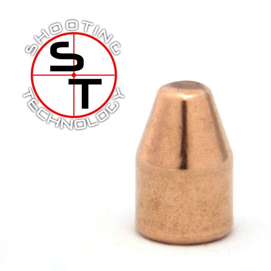 Palle ramate ad alta precisione 9mm TC 124 grani
