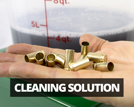 Cleaning Solutions for cartridge case