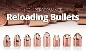 Palle per ricarica ramate high quality reloading bullets