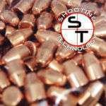 Palle ramate ad alta precisione 9mm 115 gr TC 3