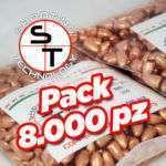 Palle ramate ad alta precisione 9mm 115 grains 8000 pezzi
