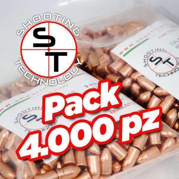 Palle ramate ad alta precisione 9mm 147 grani 4000 pz