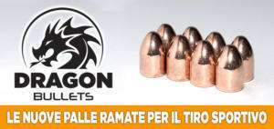 Dragon Bullet palle ramate per arma corta