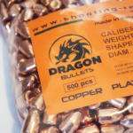 Dragon copper plated bullet