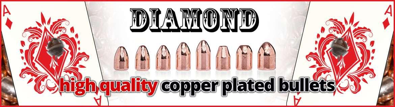 Palle Ramate ricarica pistola Diamond