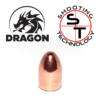 Palle ramate 9mm 124 grains Dragon Bullet