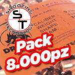 Palle ramate Dragon TC 9mm 124 gr 8000 pcs