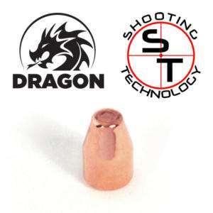 Palle ramate Dragon TC 9mm 124 grains