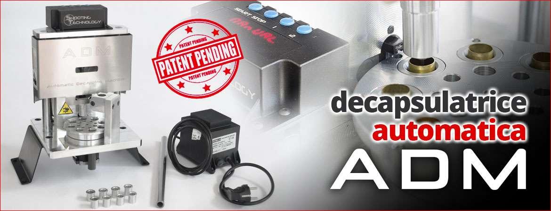 Decapsulatrice automatica ADM shooting technology