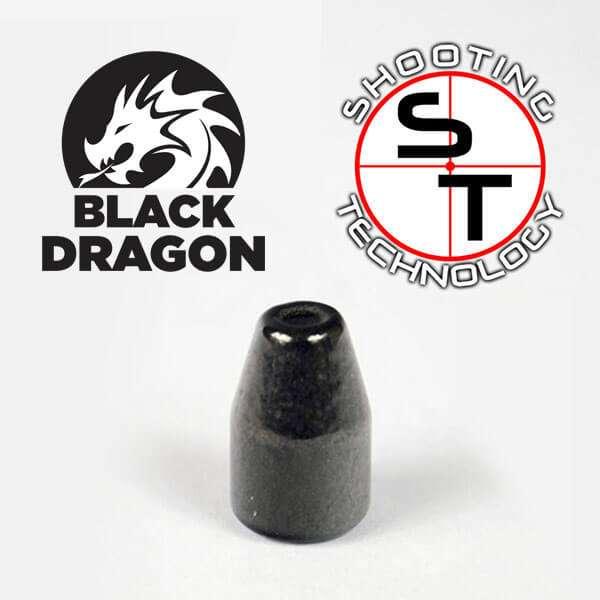 Palle ramate Black Dragon 9mm 124 gr HPTC