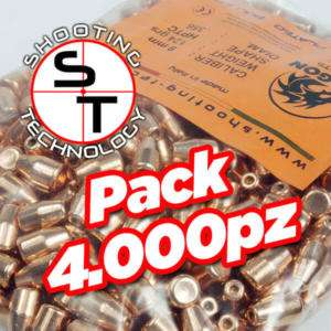 Palle ricarica Dragon Hollow Point calibro 9 124 gr HPTC