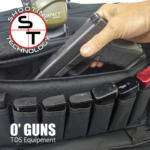 Borsa grande O GUNS pistola e caricatori